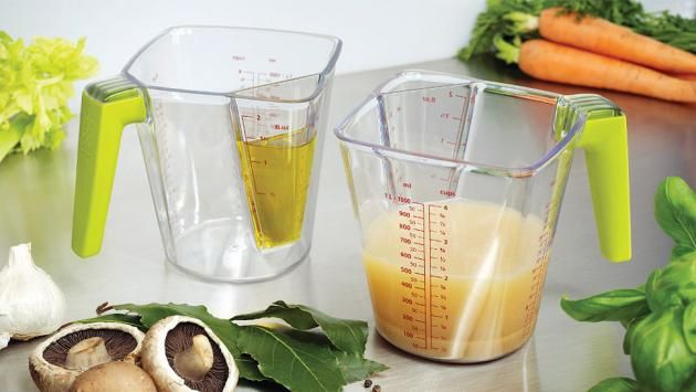 One Cup Two Measurements for that Kitchen Geek in You