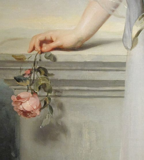 Thomas Lawrence - Portrait of Catherine Gray, Lady Manners (detail), 1794