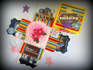 HappyMomentzz crafting by Sharada Dilip: Explosion box - Musculine theme