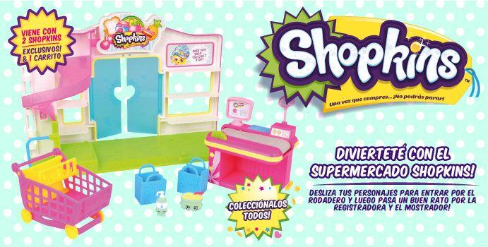 Diviértete con el supermercado Shopkins!