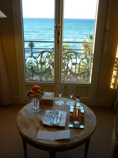 Cannes - Carlton InterContinental welcome