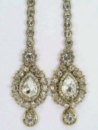 Earrings With A Chain
