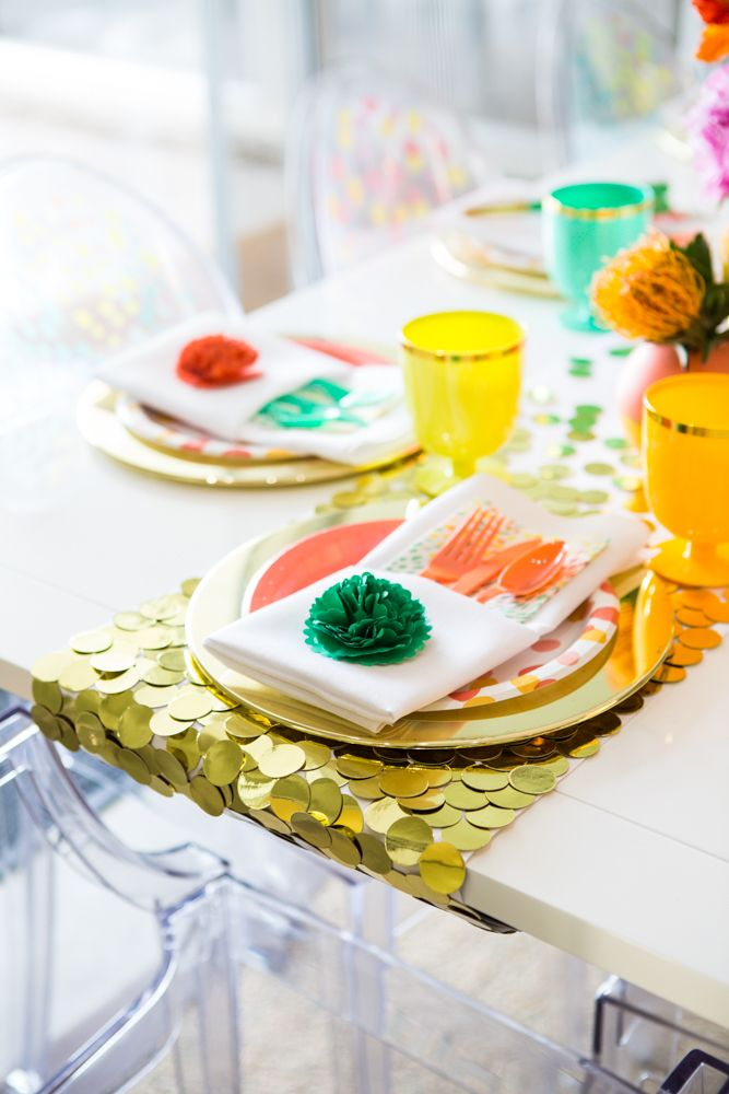 Guess what we did last weekend? Threw a party for the #OhJoyforTarget collection and had way too much fun doing it. We even made a confetti table runner! DIY to come soon!