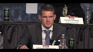 awesome Stephen Thompson: 'Whoever Has the Belt is Who I Want'