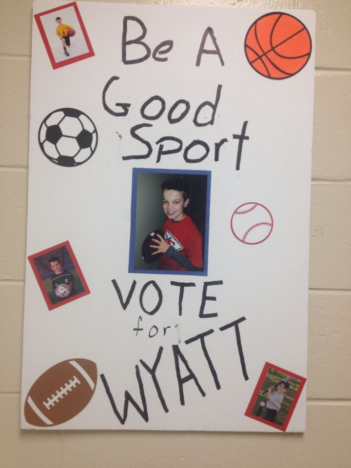 Class President Campaign Poster Pictures to Pin on ...