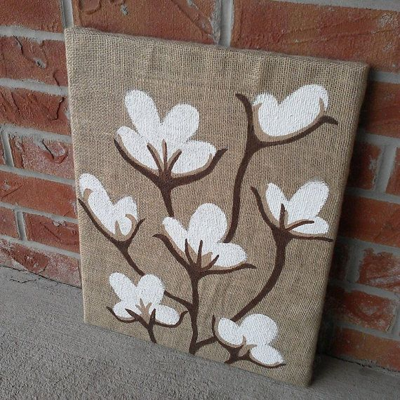 25 best ideas about burlap canvas on pinterest memory