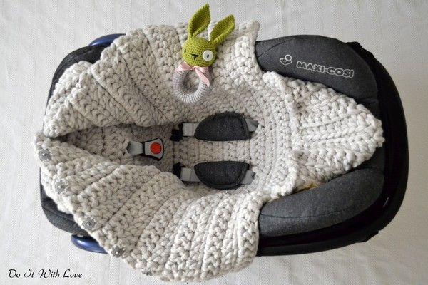 Baby Schlafsack 3in1 Häkelanleitung E-Book
