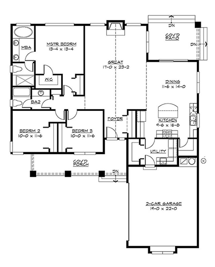 370 best images about house plans on pinterest craftsman for Houseplans com craftsman