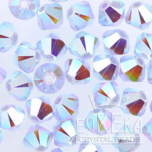 9c85fba612fa6 Swarovski Crystal Beads #5328 4mm Bicone AIR BLUE OPAL AB2X (360pcs ...