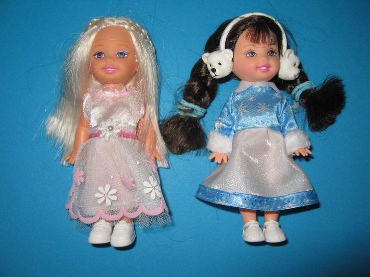 B126- ZWEI ORIGINALE BARBIE SHELLYS MATTEL SHELLY CLUB MAURA KOMPLETT GEKLEIDET in Spielzeug, Puppen & Zubehör, Mode-, Spielpuppen & Zubehör, Barbiepuppen & Zubehör /Mattel, Puppen | eBay