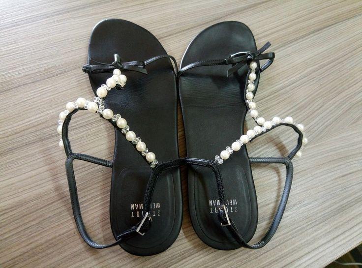 Легендарная обувь Stuart Weitzman реставрация обуви в Тюмени