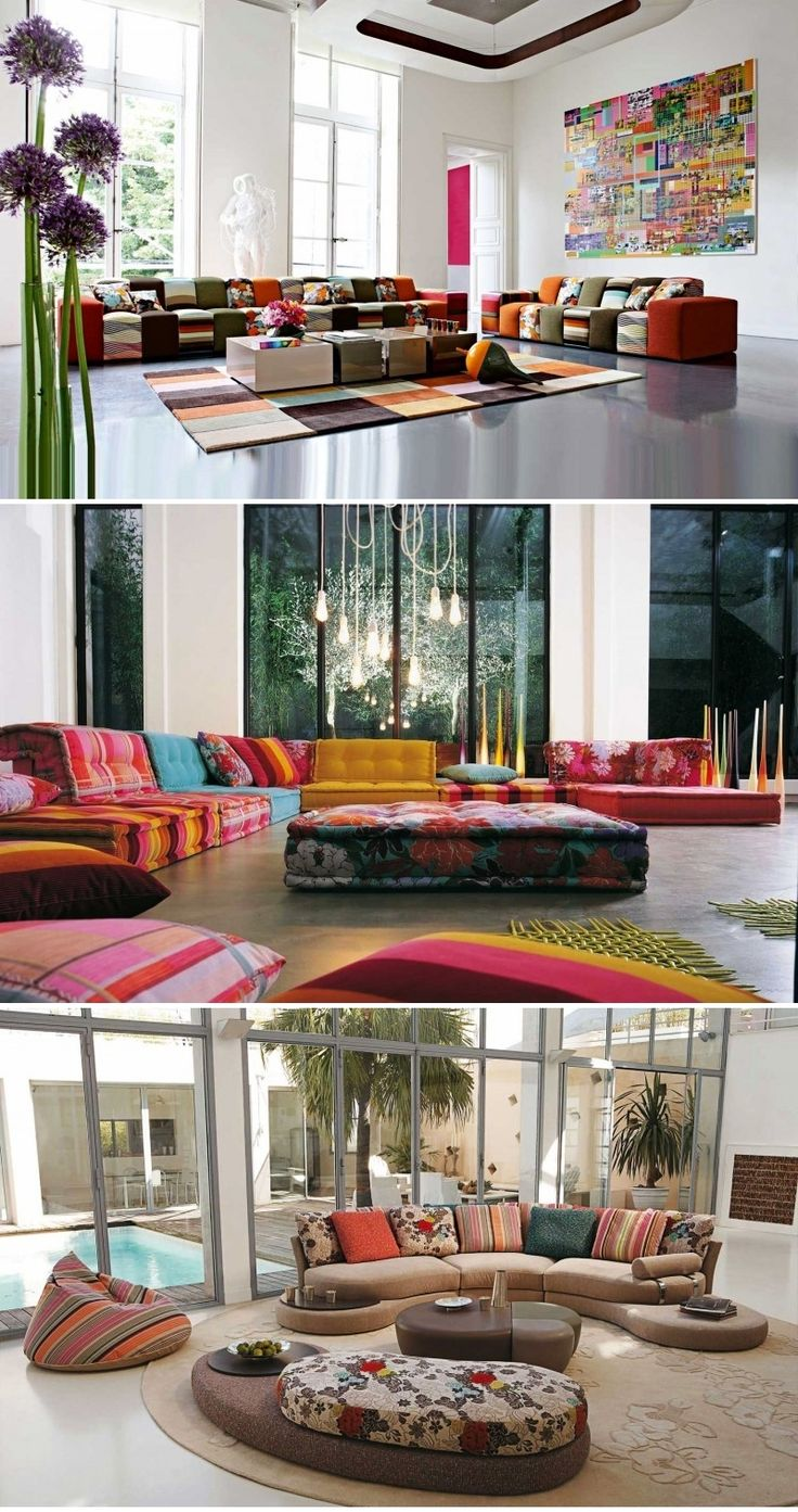 Living Room Inspiration: 120 Modern Sofas By Roche Bobois (Part 1/3)
