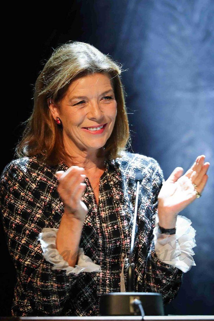 La princesa Carolina de Mónaco, impecable en la entrega de los Premios Fundación Pierre de Mónaco