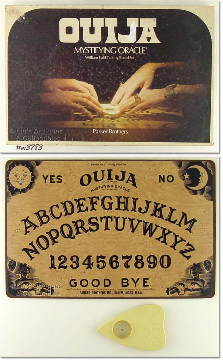 Ouija was a great way to scare each other during sleepovers.