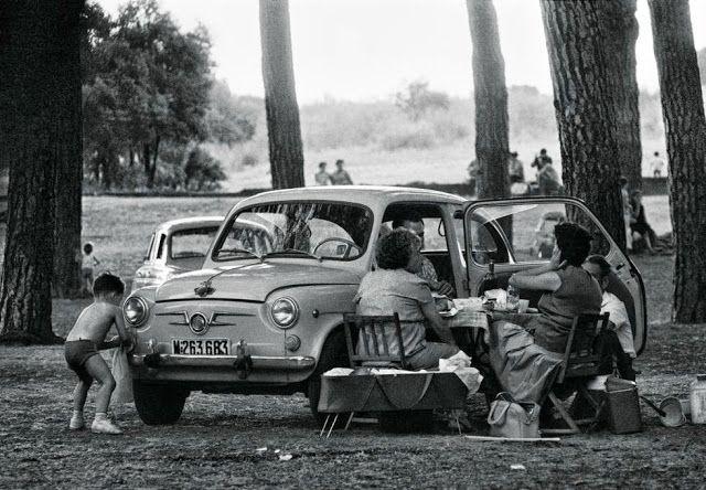 Vivir en Madrid. Casa de Campo, 1967.FRANCISCO ONTAÑÓN (GALERÍA ARTESONADO, LA GRANJA DE SAN ILDEFONSO, SEGOVIA)