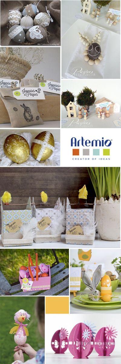 Blog: Pâques s'invite chez vous... | Artemio Créateur d'idées