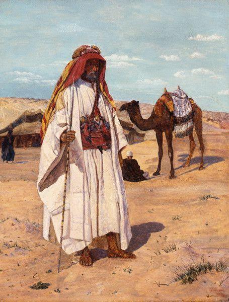 Arab Shaykh (Richard Burton in Arab Dress)