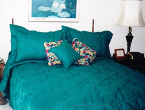 Turquoise Bedspread!