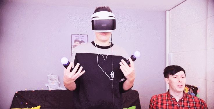Dan and Phil GET REAL JOBS - Job Simulator VR!