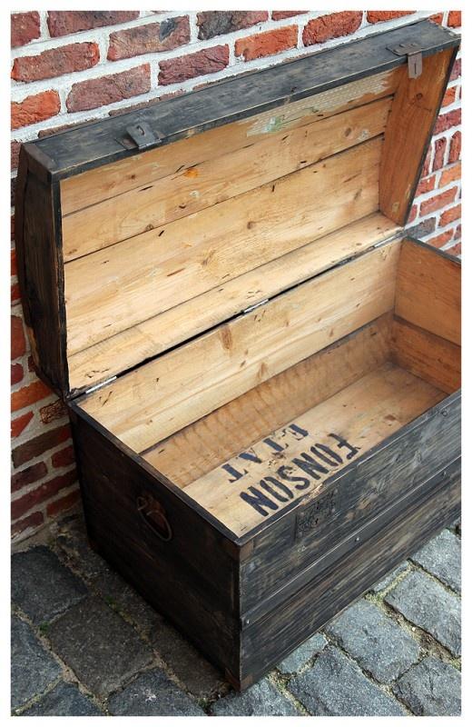 Oude kist.