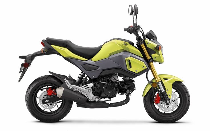 2017 Honda Grom Review / Specs & Changes - HP & TQ, MPG, Price, Release Date and more on Honda's new 2017 Grom 125 Motorcycle | Naked StreetFighter Mini Sport Bike