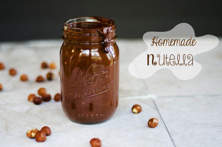 Homemade Nutella | Gluten-Free & Dairy-free