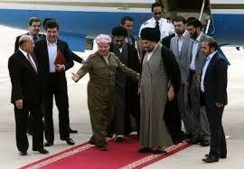السيد مقتدى الصدر(اعزه الله) يصل الى مطار اربيل ويستقبله رئيس اقليم كردستان…