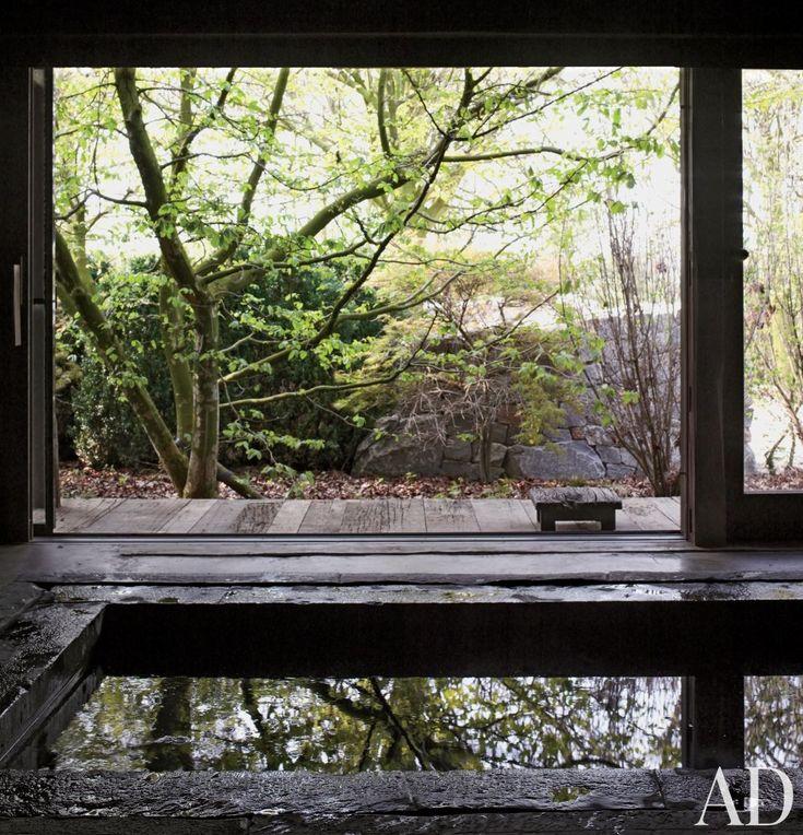 Rustic Pool by Axel Vervoordt in Belgium RUSTIC POOL...WABI SABI POOL♥★