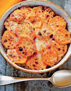 Ovenschotel met pompoen, wortel, zoete aardappel en pastinaak - Culinair - Nina