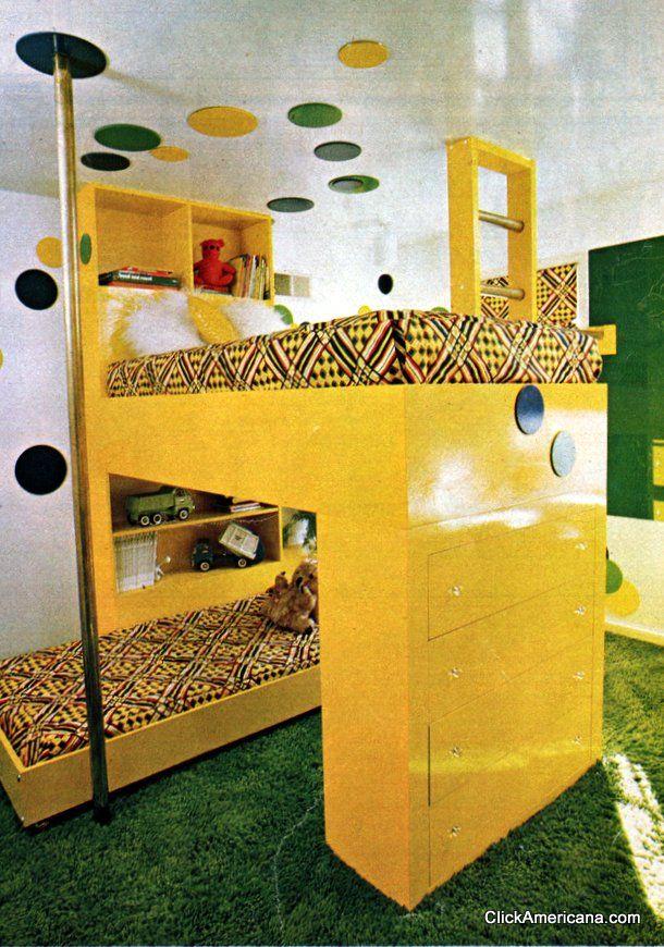 Fun Furniture: Lofty Bunk (1976