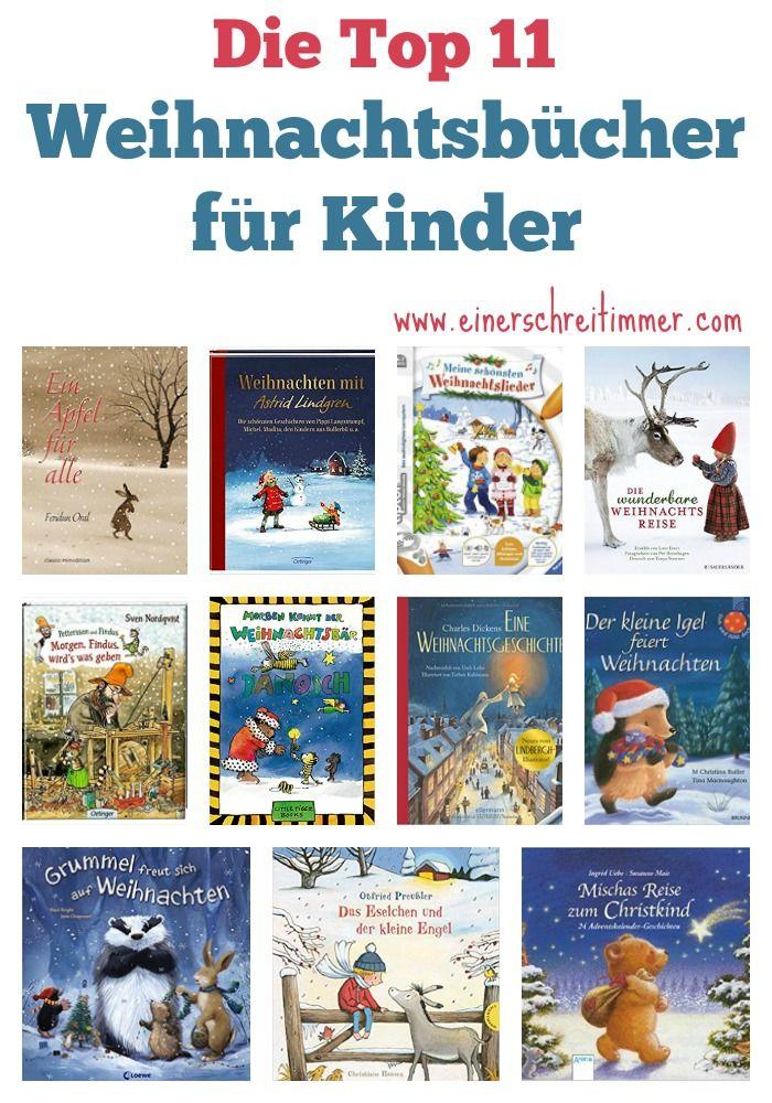 Die TOP 11: Weihnachtsbücher für Kinder – Stefanie