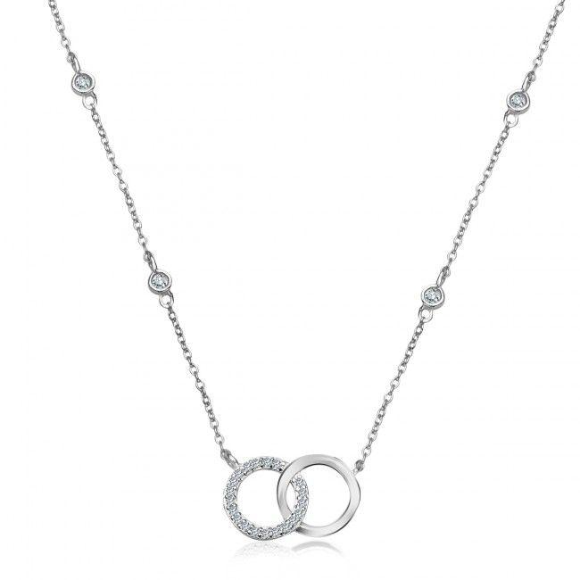 Srebrny Naszyjnik z Cyrkonią, 79 PLN, www.Bejewel.me/srebrny-naszyjnik-z-cyrkonia-1593 #jewellery #silver #bejewelme #bjwlme #shoponline #accesories #pretty #style