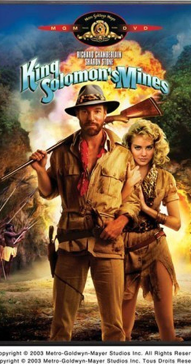 Directed by J. Lee Thompson. With Richard Chamberlain, Sharon Stone, Herbert Lom, John Rhys-Davies. Fortune hunter Allan Quatermain teams up with a resourceful woman to help her find her missing father lost in the wilds of 1900s Africa while being pursued by hostile tribes and a rival German explorer.