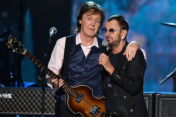 Paul McCartney Ringo Starr The Night That Changed America: A GRAMMY Salute To The Beatles