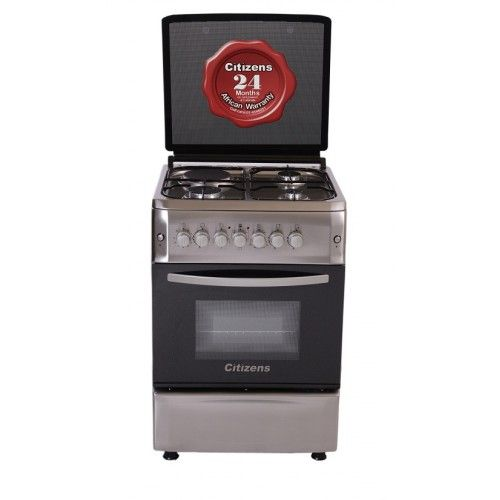 Citizens CF-6631-IOGIT 60x60 Free Standing Gas Cooker 3Gas + 1Elect  Crystal Series