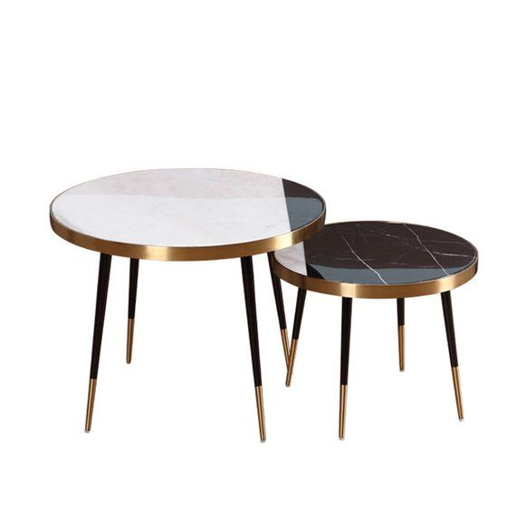 Round Marble Coffee Table Coffee Table Marble Table Side Table