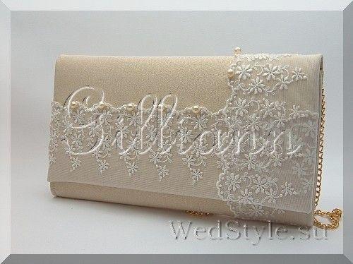 Свадебная сумочка клатч Gilliann Марго BAG243 #weddingbag #weddingclutch