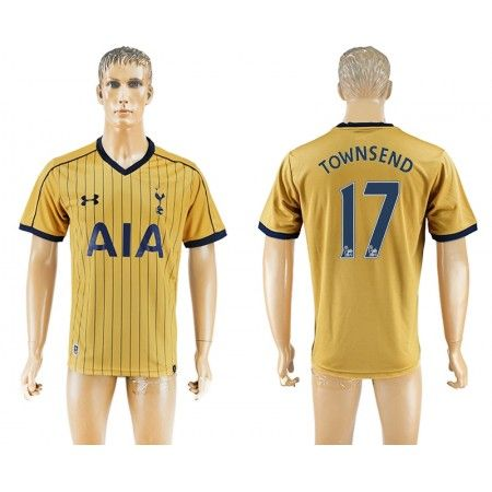 Tottenham Hotspurs 16-17 #Townsend 17 3 trøje Kort ærmer,208,58KR,shirtshopservice@gmail.com