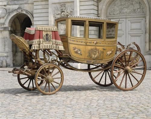 Coach created for the wedding of Napoleon and Marie Louise duchess of Parma