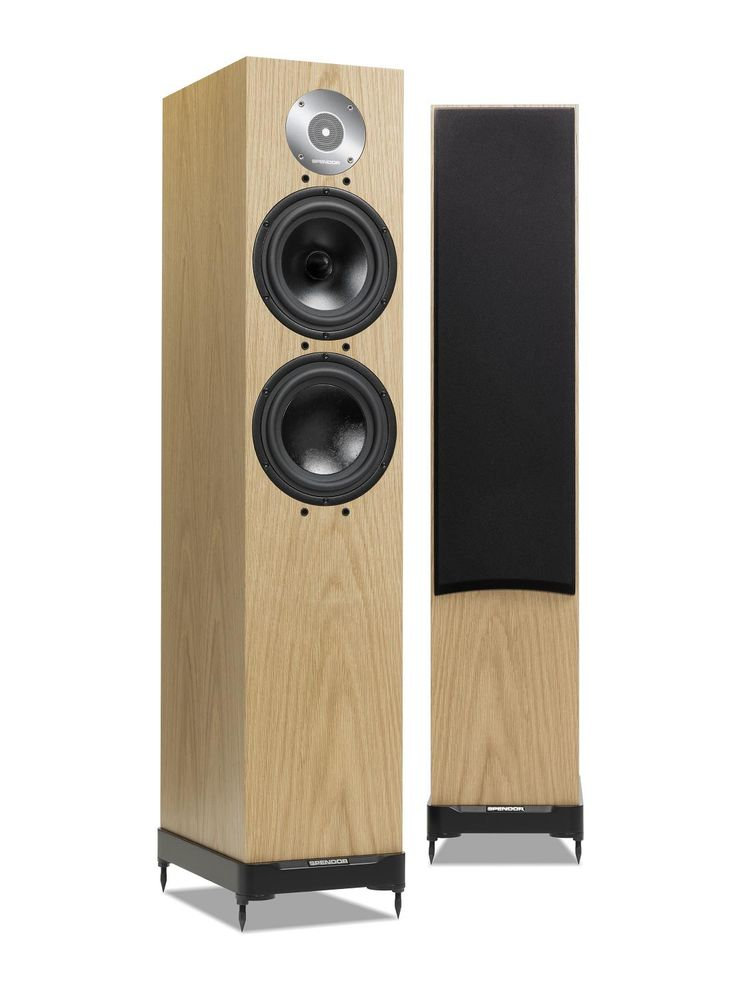 Spendor D7 - light oak . The Spendor LPZ tweeter is built around a stainless steel front plate that forms an acoustic chamber directly in front of the lightweight diaphragm. The phase correcting microfoil equalises sound wave path lengths whilst generating a symmettrical pressure environment so the tweeter operates in a balanced linear mode. The D7 mid-bass drive unit has an advanced EP77 polymer cone, whilst the low frequency drive unit uses a bonded Kevlar composite.