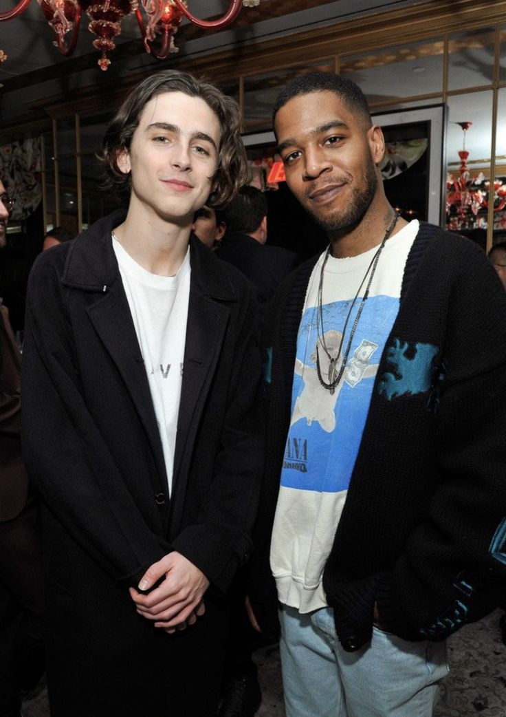 Timmy and Kid Cudi