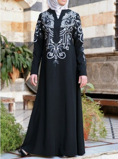 Salam Embroidered Gown