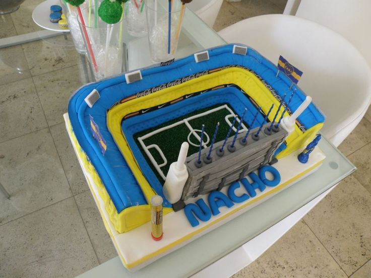 Torta estadio Boca Juniors