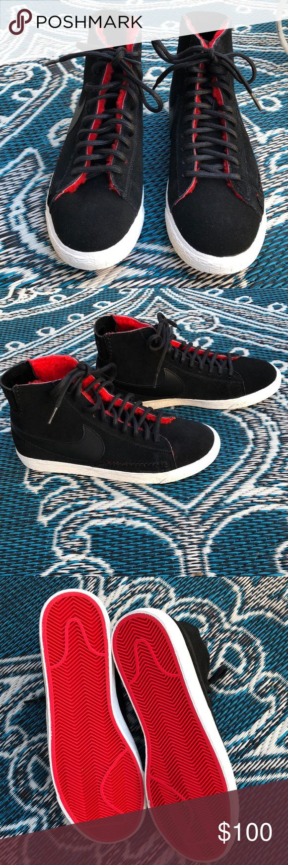 Nike mid-top Tennis Suede super cute and comfy NWOT Nike Shoes Ankle Boots & Booties