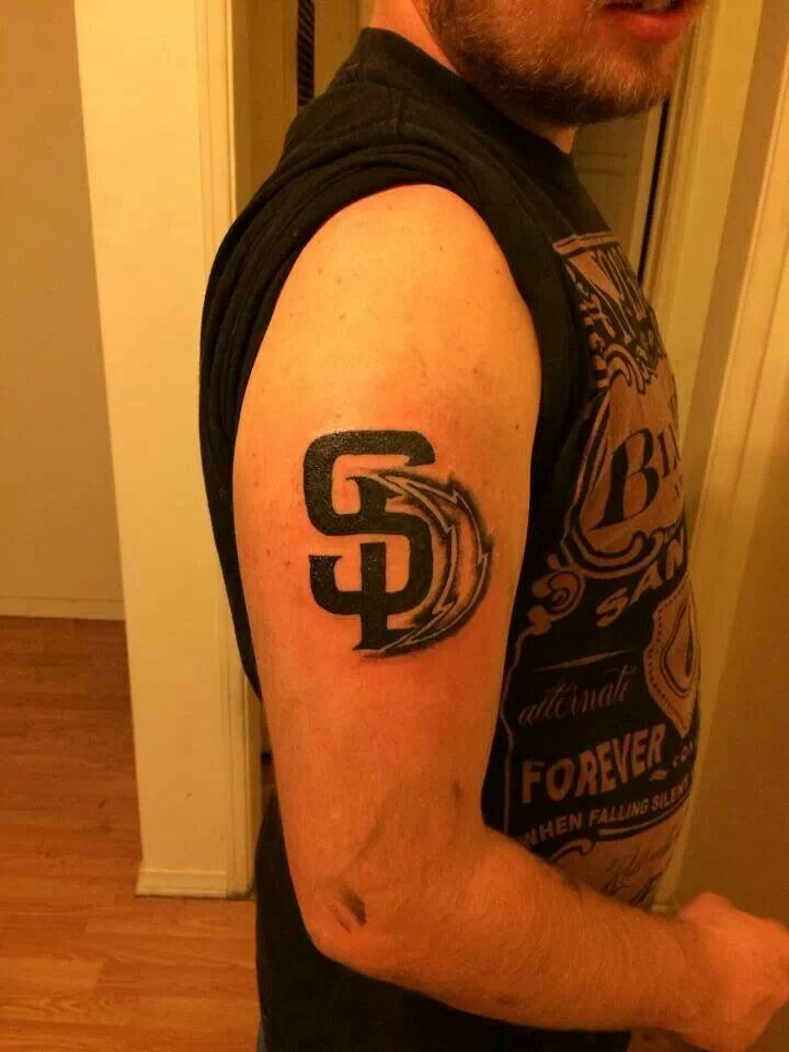 San Diego Chargers ~ tattoo