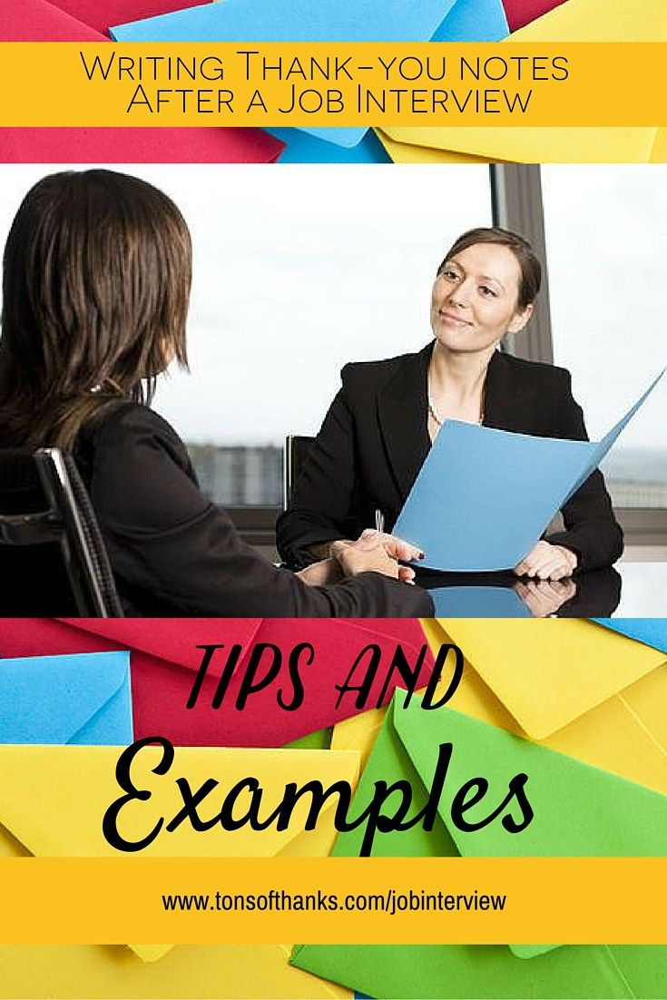 best images about job interview thank you note examples and write a great thank you note following your job interview the thank you