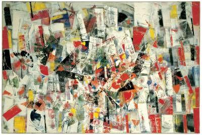 Composizione, Tancredi Parmeggiani, 1955 #arte