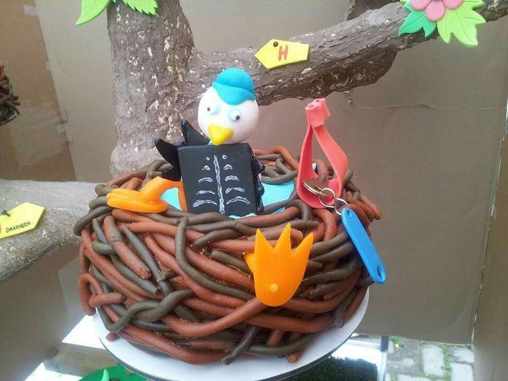 Ooievaar taart
