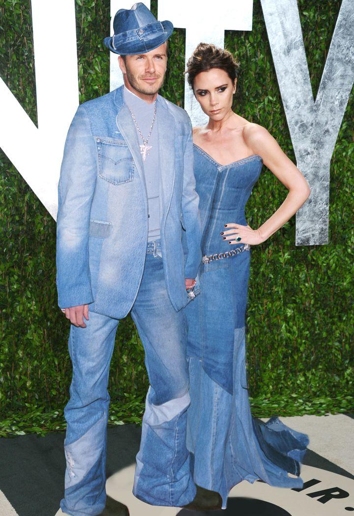 Celebrities Wearing Denim - Britney Spears and Justin Timberlake's Denim Formalwear - Cosmopolitan