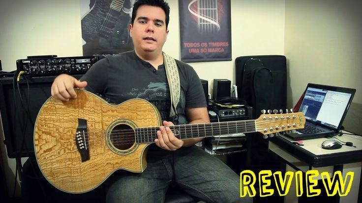 Review Violão 12 cordas -  IBANEZ EW2012ASE  - Bruno Palma (english subs)